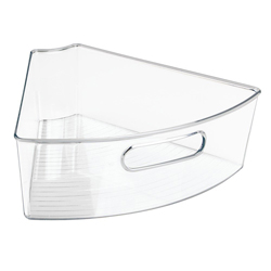 Recipiente de Almacenamiento Lazy Susan Transparente Interdesign