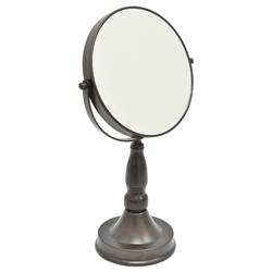 Espejo de Aumento 5x Bronce Home Basic