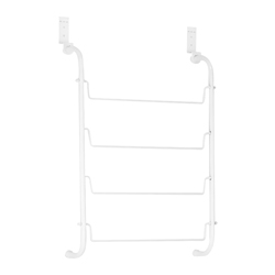 Toallero Colgante Blanco para Puerta