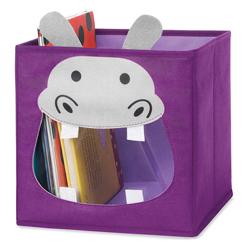 Caja Organizadora de Juguetes Diseño de Hipopótamo