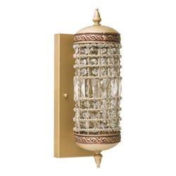 Lámpara de Pared Bronce  Vidrio