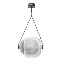 Lámpara Colgante Led Gris Transparente