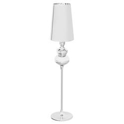 Lámpara Cónica  Plata  para  Piso