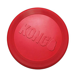 Frisbee para Mascota Flexible Rojo