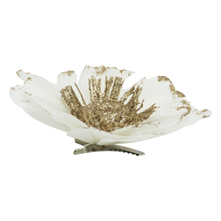 Flor Blanca  11x11x5cm