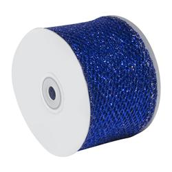 Cinta Azul Eléctrico Brillante