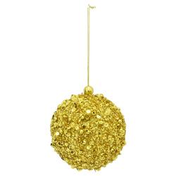 Bola con  Lentejuelas Oro