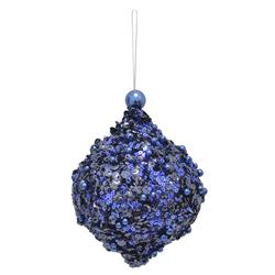 Bola Cebolla con Lentejuelas Azul