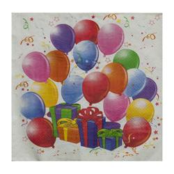 Servilleta de Papel  Balloons 33x33cm 20 Unidades