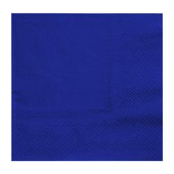 Servilleta de  Azul  25x25cm 20 Unidades