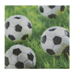 Servilleta de Papel Go For Goal 25x25cm 20 Unidades