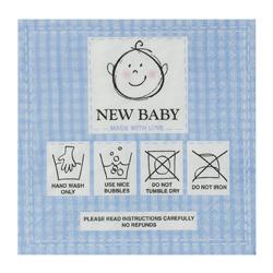 Servilleta de Papel New Baby Blue 25x25cm 20 Unidades