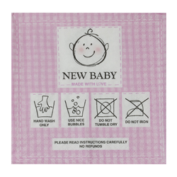 Servilleta de Papel New Baby Pink 25x25cm 20 Unidades