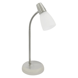 Lámpara de Mesa en Acabado Satín de 40w