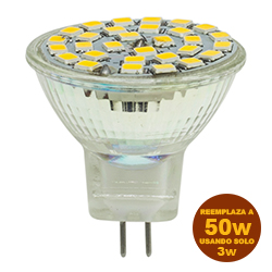 Foco Led MR11 3w G5.3 Lumicino