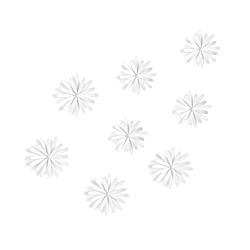 Decoración de Pared Delicia Blanco 8 Piezas Umbra