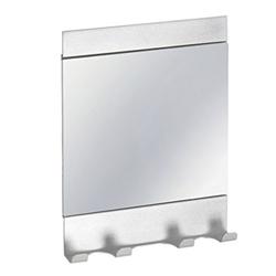 Espejo Affixx Aluminio Interdesign
