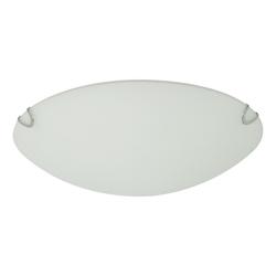 Plafón  de  Vidrio Circular Arenado 60w
