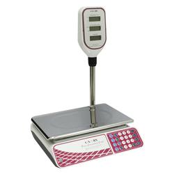 Balanza Digital de 30kg con  Brazo y Pantalla para Precio para Mostrador Camry