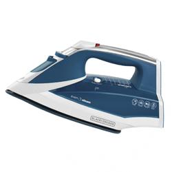 Plancha Azul con Suela de Cerámica Black+Decker