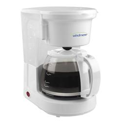 Cafetera Blanca 8 Tazas  Windmere