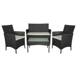 Mueble de Patio Wengue Portofino de 4 Piezas