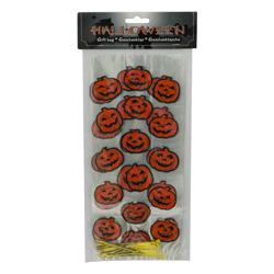 Fundas Plásticos de Halloween Set de 16 Piezas