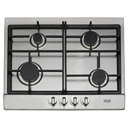 Cocina a Gas con 4 Quemadores de Acero Inoxidable de 62x52cm Dipiu