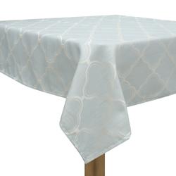 Mantel Turquesa con Blanco