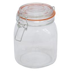 Envase de Vidrio con Tapa Hermética 1 Litro