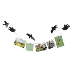 Soporte para Fotos Bird On A Wire Negro Umbra