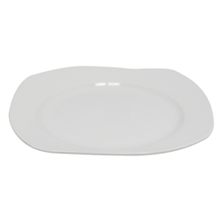 Plato Tendido Melt Blanco Deco Home