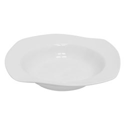 Plato Hondo Melt Blanco Deco Home