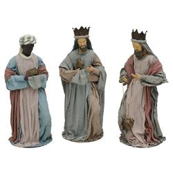 Reyes Magos en  Set de 3 Piezas 80cm