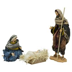 Nacimiento Sagrada  Familia 40cm en Set de 3 Piezas