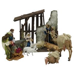 Nacimiento Completo con Pesebre 12 Piezas