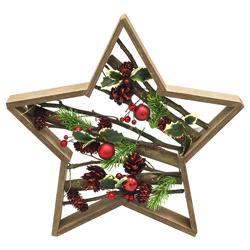 Estrella con Piñones