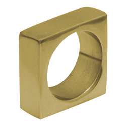 Anillo Porta Servilleta Square Oro Brillante