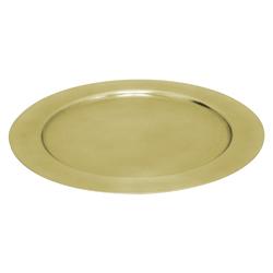 Porta Plato Oro Brillante  33cm