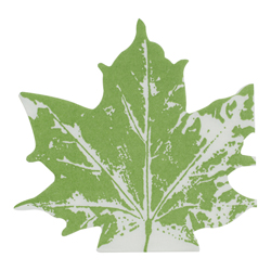 Servilleta  Pellon Maple Leaf Green 33x33cm