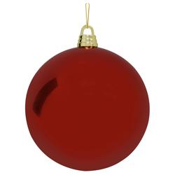 Bola Navideña Rojo Brillante 30cm