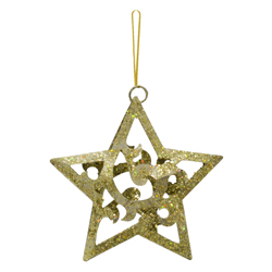 Estrella Colgante Oro