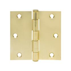 Bisagra Desarmable Oro con Tornillos 3,5x3,5