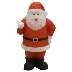 Santa Acrílico con Luz Led 81cm