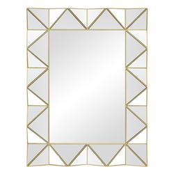 Espejo Prisma Dorado