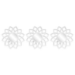 Decoración de Pared Mandala Blanca 3 Piezas