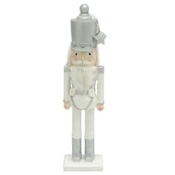 Adorno Cascanuez Blanco  32cm