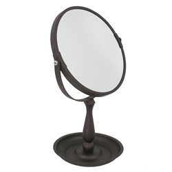 Espejo de Aumento Bronce 5x   Home Basic