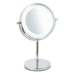 Espejo de Aumento Bronce 3x con Led Home Basic