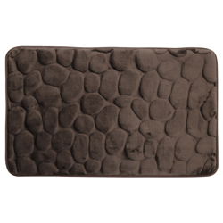 Alfombra Stone Foam Café Oscuro 50x70cm